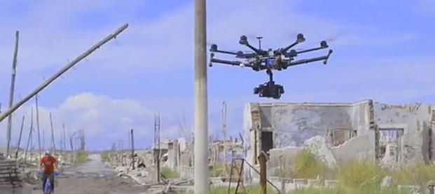 Danny McAskill a Epecuén, video backstage con drone