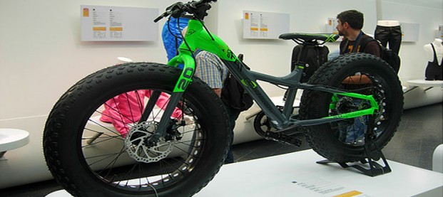 """EUROBIKE 2014 // 20"""" Fat bike"""