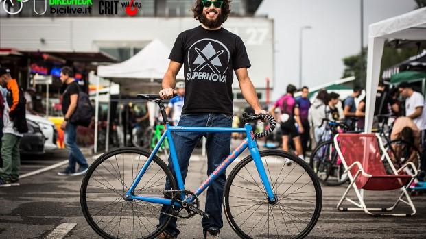 Red Hook Crit Milano 2014 // Bike check @Supernova