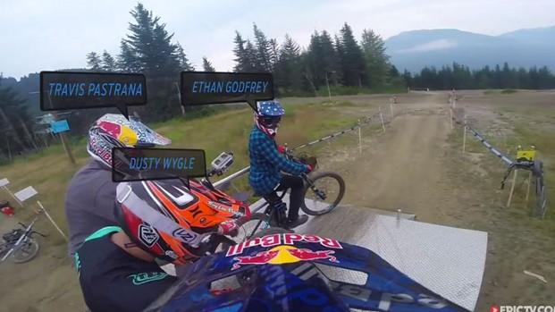Travis Pastrana: Motocross, Rally, Nitro Circus e… Downhill!