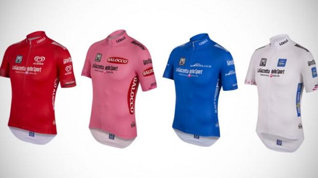 Pitti uomo: svelate le maglie leader del Giro d'Italia 2015