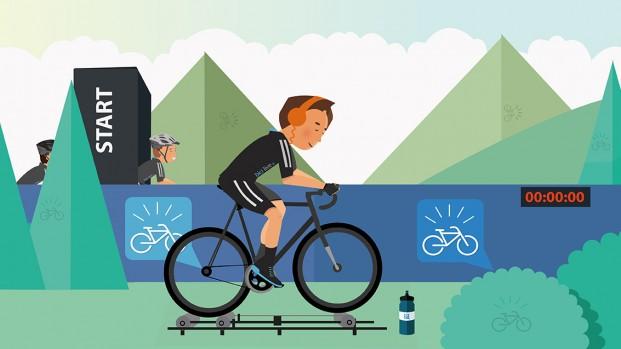 Allenamento bici: il riscaldamento pre gara