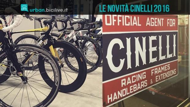 Le nuove bici Cinelli 2016: un po' Andy Warhol, un po' Easy Rider