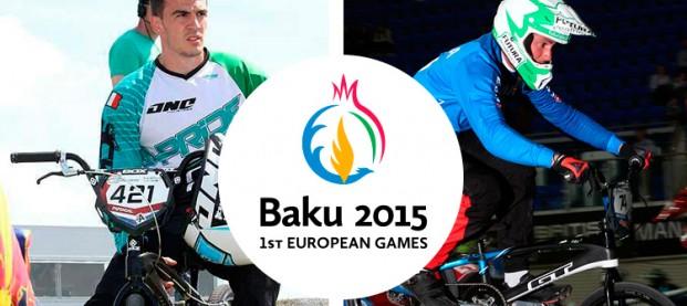 Giochi Europei 2015 // Furlan e Riccardi a Baku in BMX