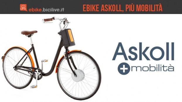 eBike Askoll: bici elettriche urbane da Vicenza