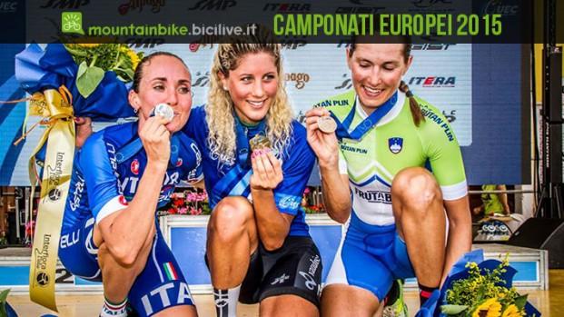 Campionati Europei 2015 di mountain bike e trial conclusi con gran successo