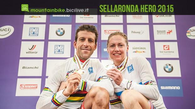 Sellaronda HERO 2015: i Campioni del Mondo sono Alban Lakata e Gunn-Rita Dahle Flesjå