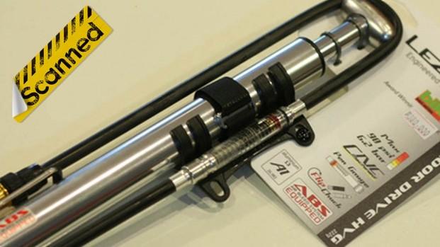 Test pompa bici: Lezyne Micro Floor Drive HVG