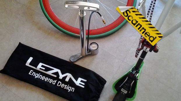 Test pompa bici: Lezyne CNC Travel Drive