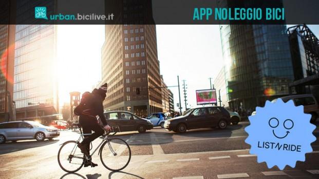 List-n-ride: l'app per noleggiare la bicicletta giusta dal biker giusto