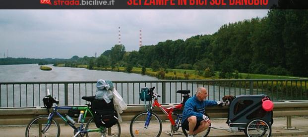 La ciclabile sul Danubio: due ruote, sei zampe