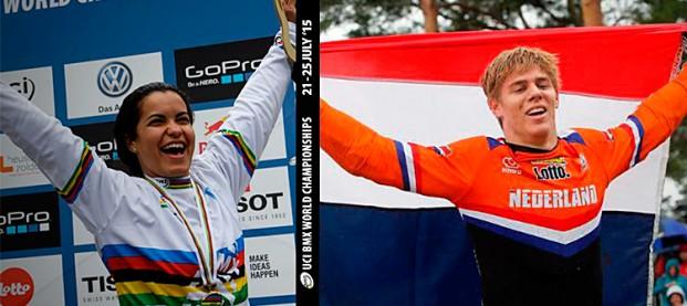 Mondiali BMX 2015 a Kimman e Hernandez