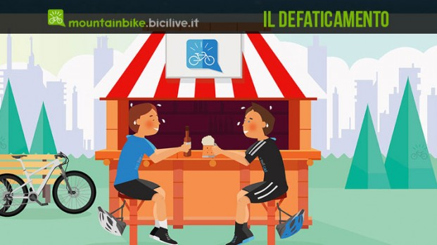 Allenamento bici: il defaticamento. Come e quando serve.