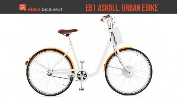 eB1 Askoll: la bicicletta elettrica urbana sotto i 1.000€