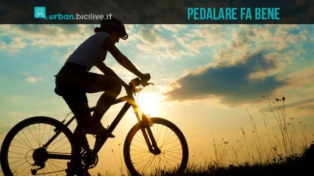 Bicicletta ogni giorno per dimagrire, stare in salute e vivere più a lungo