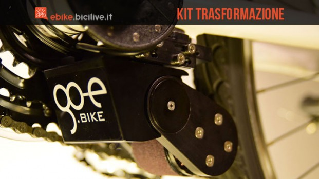 Con go-e ONwheel trasformi in pochi secondi la tua bici in e-bike