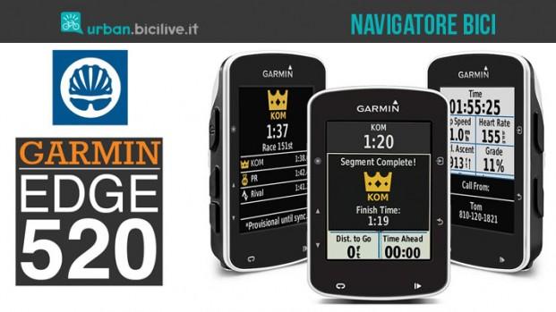 Garmin Edge 520: regalate un cervello alla vostra bicicletta