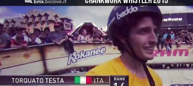 Crankworx Whistler 2015: per l'italiano Torquato Testa storico 14mo posto