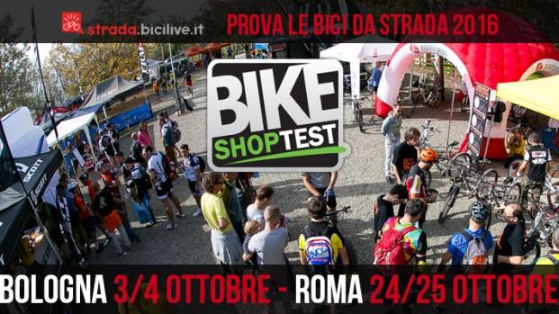 Bike Shop Test, vieni a provare le bici da strada 2016 a Bologna