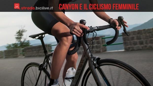 Canyon pronta a sostenere il ciclismo femminile professionista