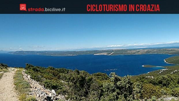 Cicloturismo in mountain bike a Lussino (Croazia)