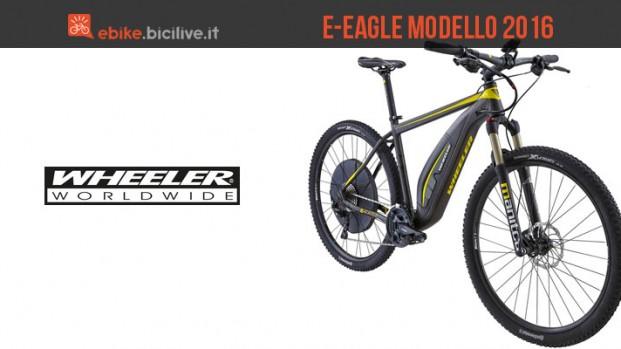 e-Eagle: Wheeler prepara la versione 2016 della sua mountain bike elettrica