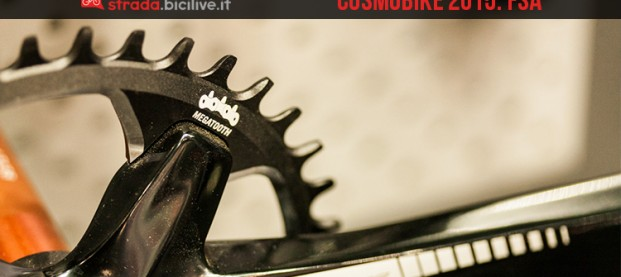 CosmoBike 2015: FSA, nuove guarniture strada, cx e gravel