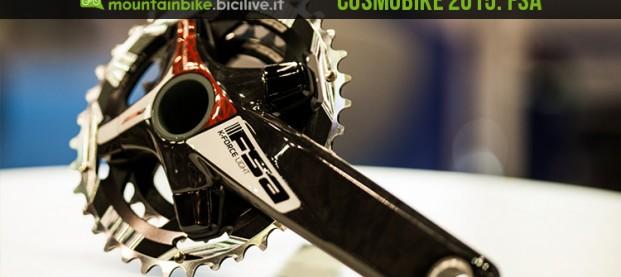 CosmoBike 2015: FSA, nuove guarniture e ruote mtb