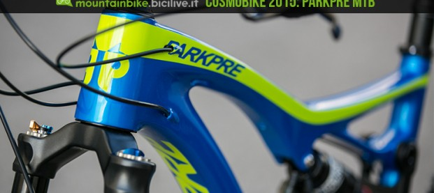 CosmoBike 2015: nuove mtb Parkpre per il 2016