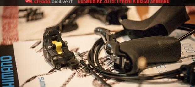 CosmoBike 2015: Shimano parla dei freni a disco per bici da corsa