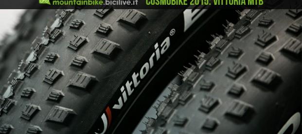 CosmoBike 2015:  gamma pneumatici Vittoria 2016 Mtb