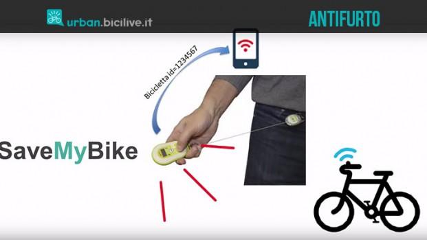 SaveMyBike, l'antifurto inamovibile per la mobilità sostenibile