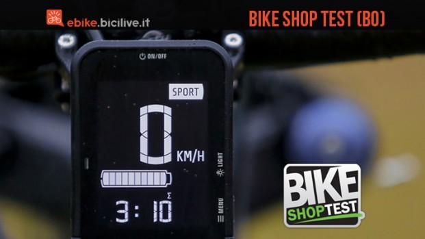 Test mtb elettriche al Bike Shop Test