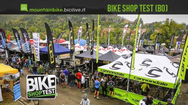 I test mtb di MountainBike.BiciLive.it al Bike Shop Test