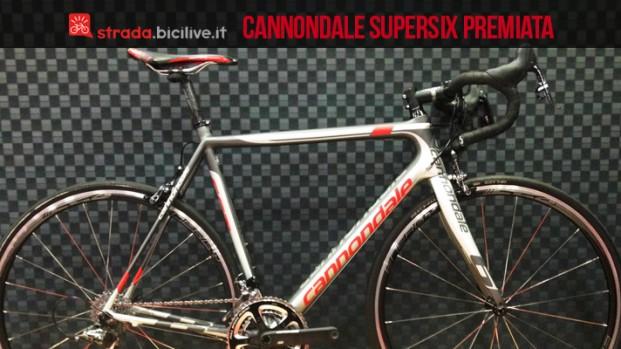 """Cannondale vince il premio """"bici da strada dell'anno"""" a Interbike"""
