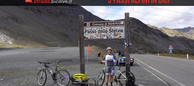 Cicloturismo: una ragazza, la sua bici e cinque passi alpini