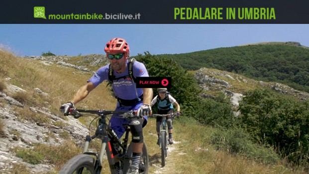 Pedalare in Umbria: il video con Richie Schley