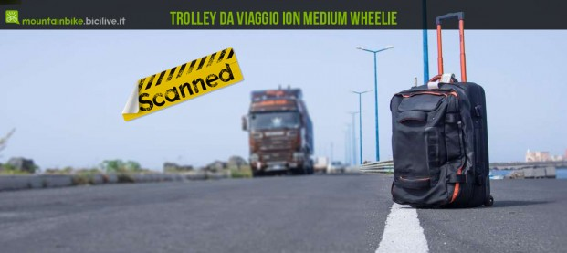 ION Trolley Medium Wheelie, un borsone per biker viaggiatori