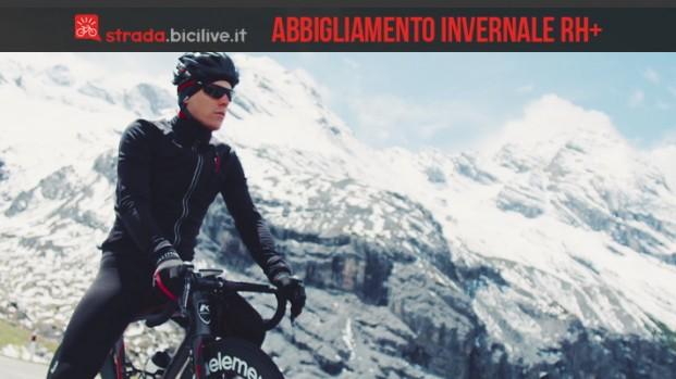 rh+: la qualità nell'abbigliamento invernale per il ciclismo