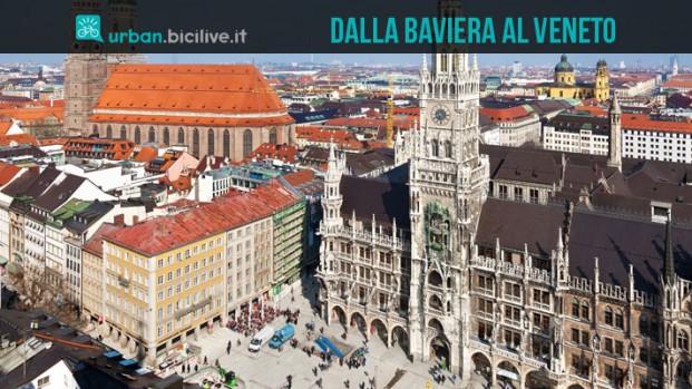 Ciclovia dell'Amicizia: 560 chilometri in sella fra Monaco e Venezia