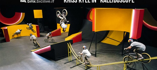 Kriss Kyle, la BMX in un caleidoscopio con Red Bull