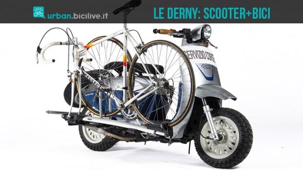 Deus Ex Machina unisce bici e moto in Le Derny