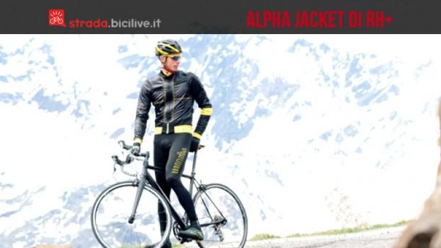 Alpha Jacket rh+: pedalare al caldo durante l'inverno