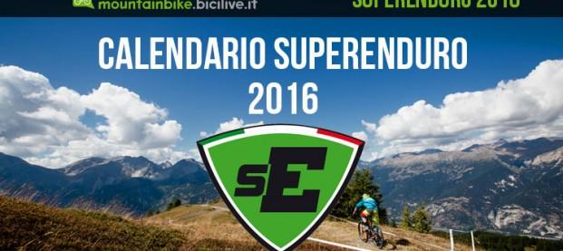 Calendario Superenduro 2016