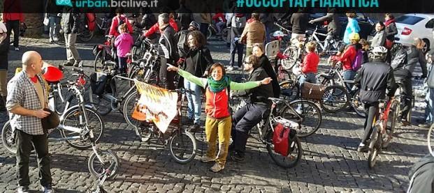#OccupyAppiaAntica: i ciclisti di Roma per un'Appia pedonale