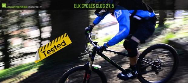 Clog 27,5: mtb front in acciaio, l'hardtail enduro secondo Elk Cycles