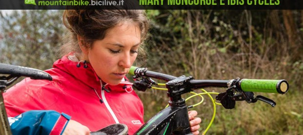 Mary Moncorgé, da rider a team manager di Ibis Cycles Enduro Team 2016