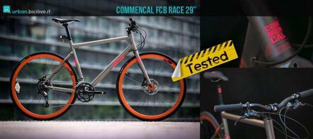 "Test bici urban Commencal FCB Race 29"""