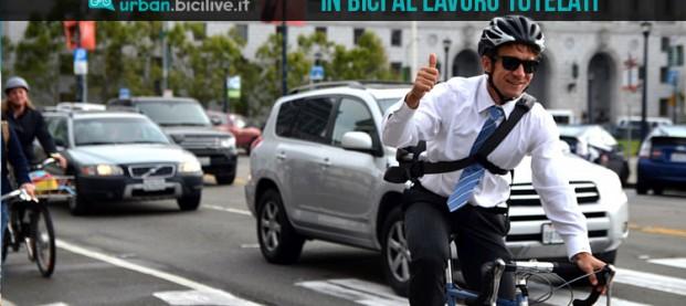 Maggior tutela per chi va al lavoro in bicicletta