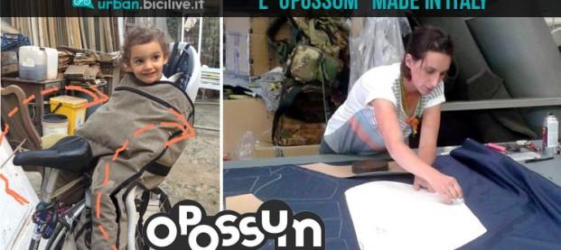 Opossum: la startup italiana per genitori ciclisti
